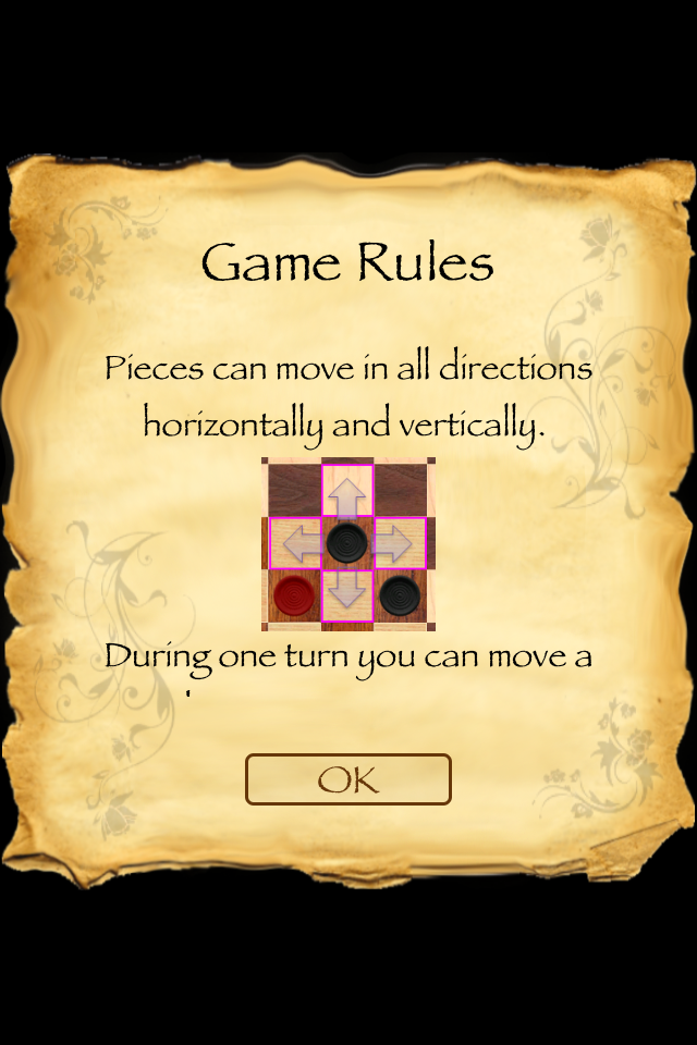 Screenshot Corner Checkers Free